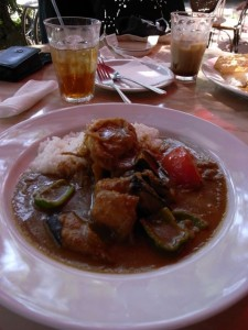 Toki Plage curry